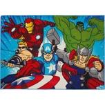 Kinderteppich Avengers Action 95 x 133 cm