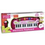 Bontempi Elektronisches Keyboard mit Mikrofon und Lichtshow