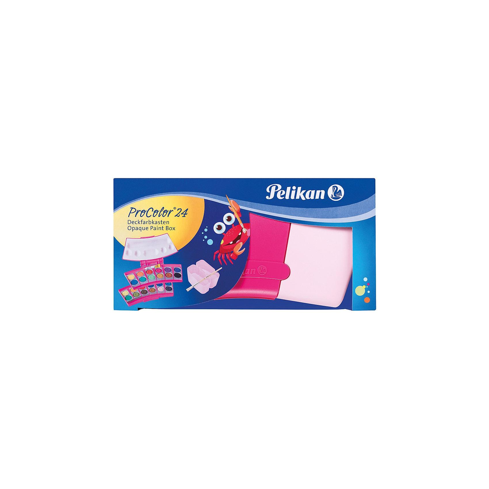Pelikan Deckfarbkasten ProColor pink 24 Farben