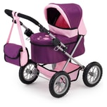 Bayer Puppenwagen Trendy Pflaume