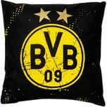 Borussia Dortmund BVB-Kissen Sterne 40x40cm