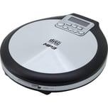 Soundmaster Tragbarer CD/MP3 Player silber