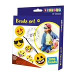 Playbox Bügelperlen-Set Emoji 2.000 Perlen