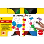Eberhard Faber Fingermalfarbe EFA Color 6 x 40 ml