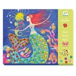 DJECO Mosaike Glitzer - Der Gesang der Meerungfrauen