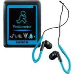 Lenco Podo 152 MP3/MP4 Player blau