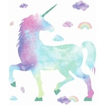 Roommates Wandsticker Galaxy Unicorn