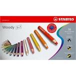 STABILO Buntstift woody 3 in 1 18 Farben