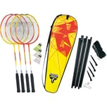 "Talbot-Torro Badminton Set ""4 Fighter"""
