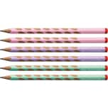 STABILO Bleistifte EASYgraph Pastel Rechtshänder Härtegrad HB 6 Stück