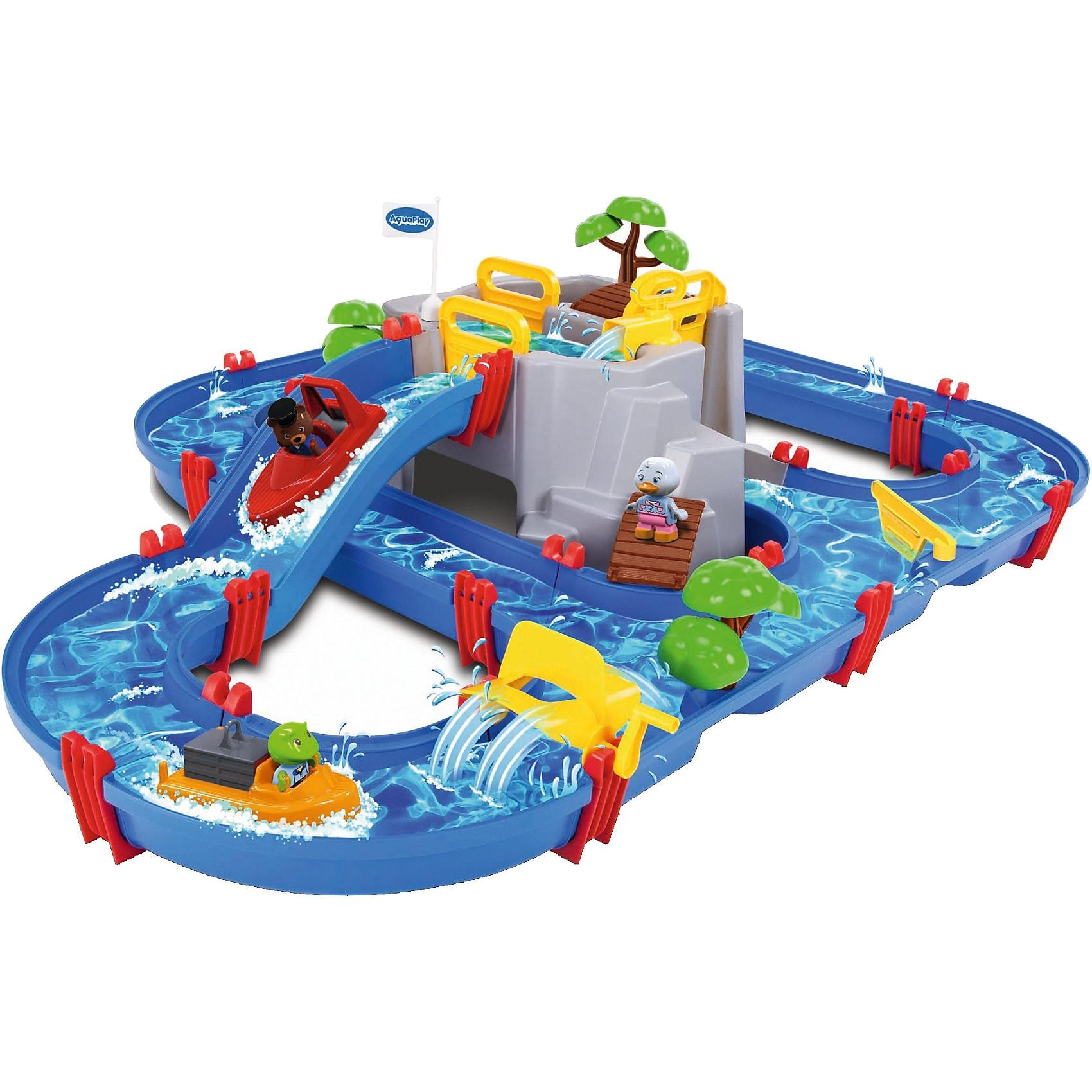 Aquaplay Wasserbahn Mountain Lake 128x88cm 42-teilig