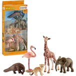 Schleich SCHLEICH 42388 Wild Life Tier-Mix