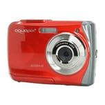 Easypix Unterwasser Digitalkamera Aquapix W1024 Splash rot
