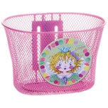 Prinzessin Lillifee Fahrradkorb aus Metall pink