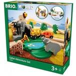 BRIO Großes BRIO Bahn Safari Set
