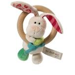 NICI Holzgreifring Hase Tilli mit Glocke für Babys 37433