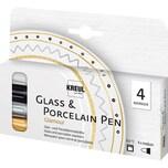 C. Kreul Glass Porcelain Pen Glamour 4 Stifte