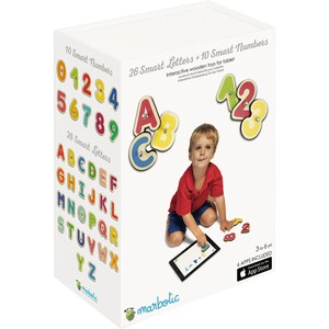 Marbotic Marbotic Smart Kit Smart Numbers Smart Letters