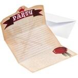 Amscan Einladungskarten inkl. Umschläge Ritter 8 Stück