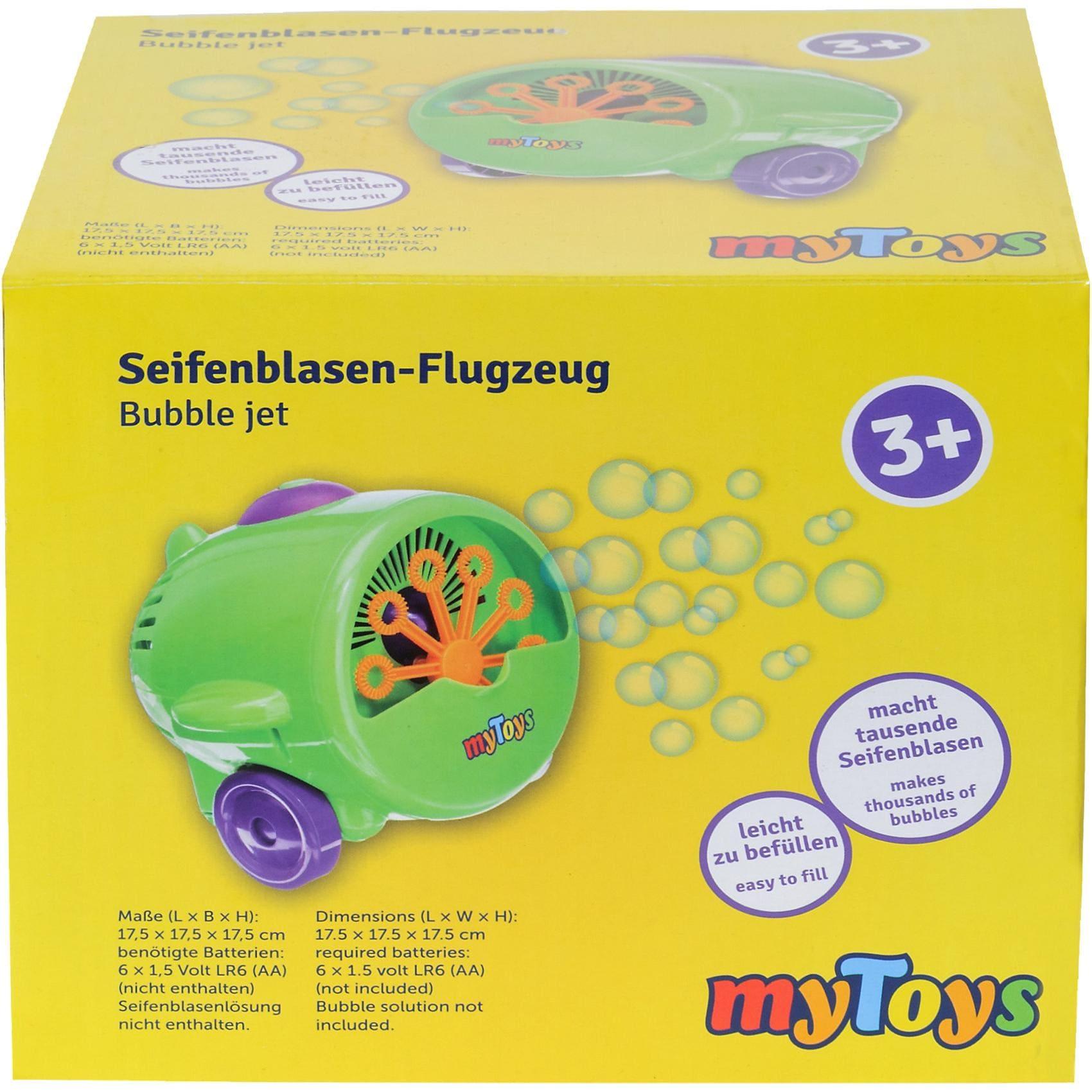MyToys Seifenblasenmaschine Flugzeug