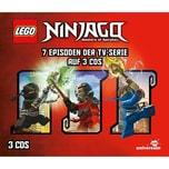 LEGO CD Ninjago Box 4 3 CDs