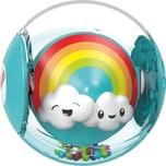 Mattel Fisher-Price Regenbogen-Ball Baby-Spielzeug Rassel Baby Ball Krabbel-Spielzeug