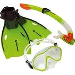 Schildkröt Junior Schnorchel Set Bermuda grün