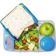 sistema Lunch Brotdose Bento Box inkl. Joghurt-Dose blau