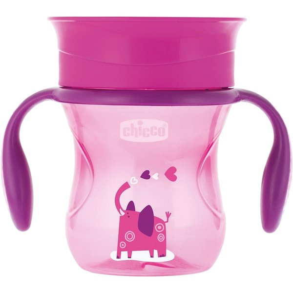 Chicco Trinklernbecher Perfekt pink 200 ml