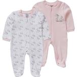 Boley Baby Schlafanzug Doppelpack für Mädchen