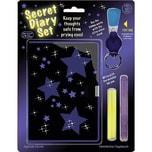 Geheimes Tagebuch mit UV-Licht