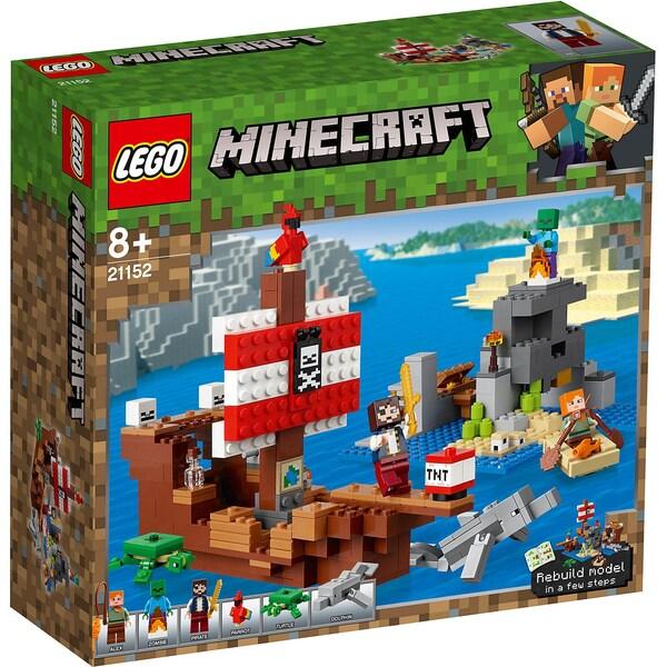 LEGO 21152 Minecraft das Piratenschiff-Abenteuer