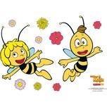 Wandsticker Biene Maja und Willi 67 x 47 cm