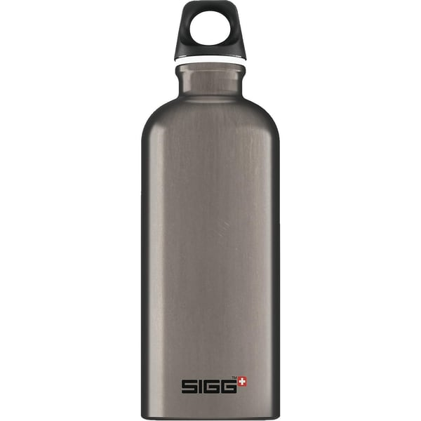 Sigg Alu-Trinkflasche Traveller Smoked 600 ml