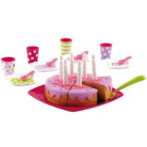 écoiffier Bubble Cook Geburtstagstorte mit Spielgeschirr