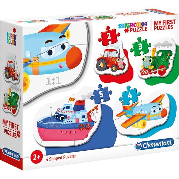 Clementoni My frist Puzzles 2345 Teile - Fahrzeuge