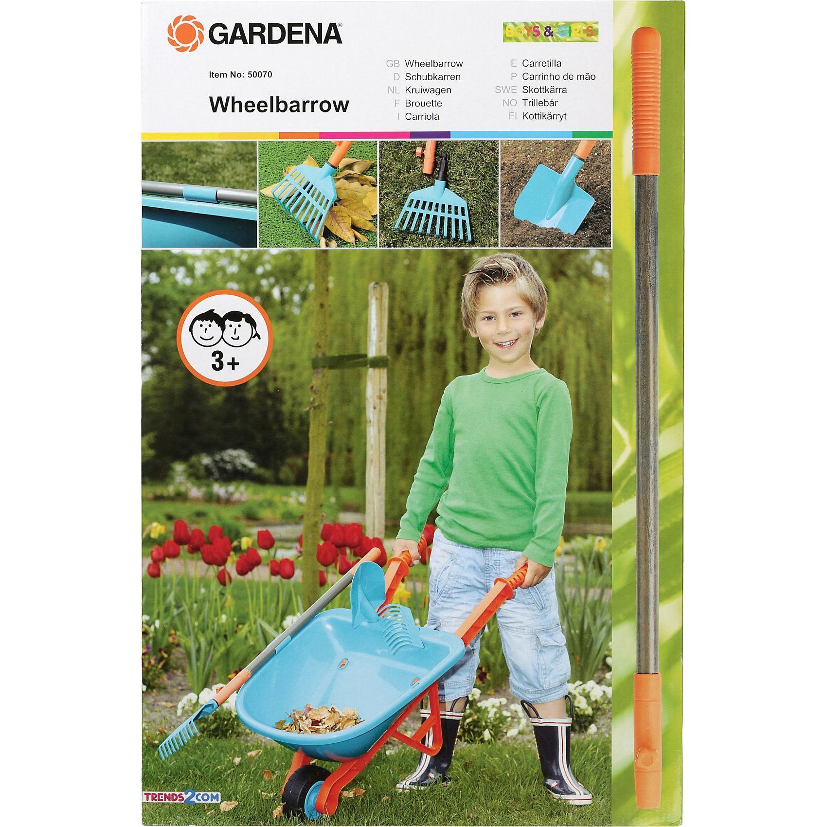 Gardena Schubkarrenset 5-teilig