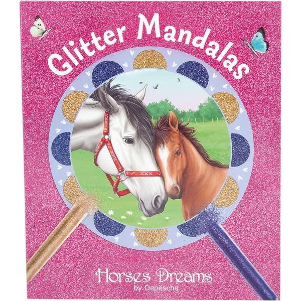 Depesche Horses Dreams Glitter Mandalas Creativeset Box