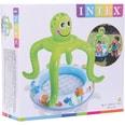Intex Planschbecken BabyPool Oktopus grün 102x104cm
