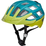 KED Helmsysteme Fahrradhelm Kailu blau-grün matt