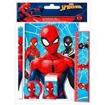 Schreibset mit Notizbuch Spider-Man 5-tlg.