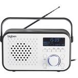 bigben Tragbares DAB-Radio TR24 weiss