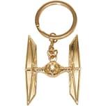 Joy Toy Tie Fighter vergoldeter Schlüsselanhänger Metall
