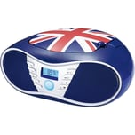 bigben CD-Player mit USB Radio CD58 Union Jack