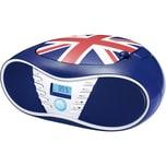 bigben CD-Player mit USB Radio CD58 Union Jack
