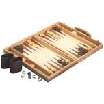 Natural Games Backgammon aus Holz