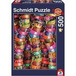 Schmidt Spiele Bunte Tassen Puzzle 500 Teile