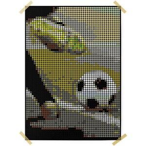 Dot On Art Sports Soccer 50 X 70 cm