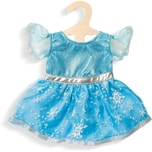 Heless Kleid Eis-Prinzessin Gr. 28-35 cm Puppenkleidung