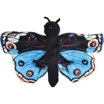 Wild Republic Huggers Schmetterling Blue Pansy